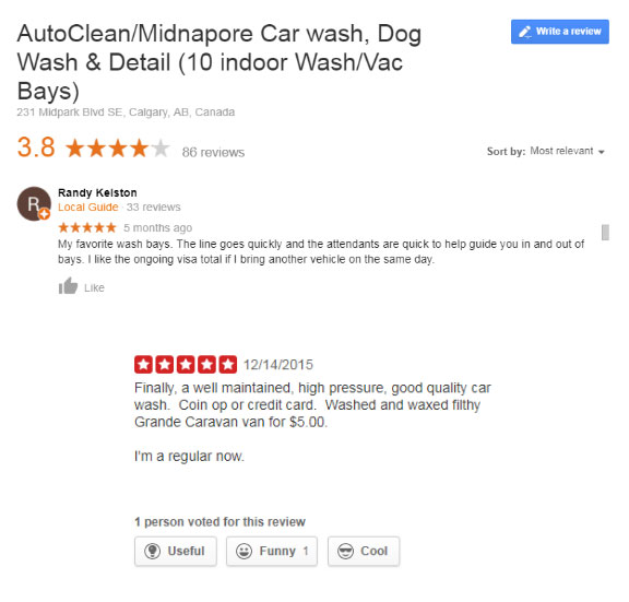 AutoClean Car Wash Reviews