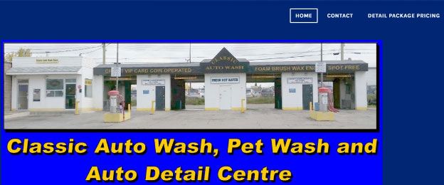 Classic Auto Wash, Pet Wash and Auto Detail Center