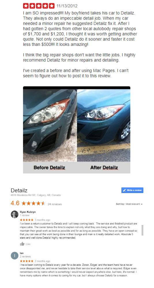 Detailz Reviews