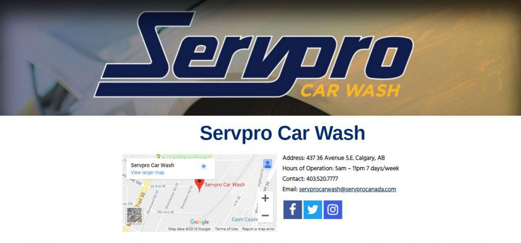ServPro Car Wash
